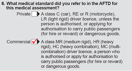 Question 7 in part 2 of form F3712
