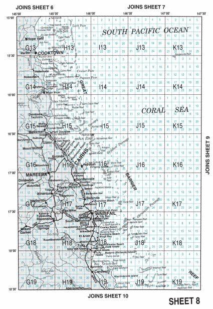 Commercial fishing logbook maps of Queensland | Business Queensland
