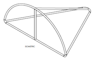 Diagram of a fisheye bycatch reduction device.